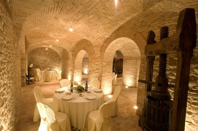 Old winery of Ribano Castle