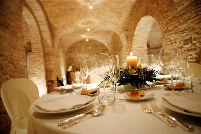 Old winery for wedding ceremony